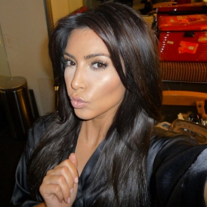 Kim Kardashian is widely considered narcissistic for the volume of selfies she takes and posts. Source: http://www.whowhatwear.com/kim-kardashian-selfie-book