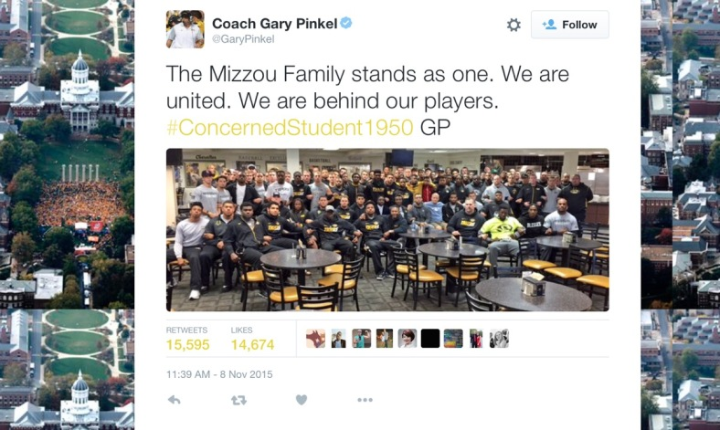 Mizzou twitter